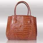 Ligator croc  handbag
