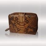Python brown wallet