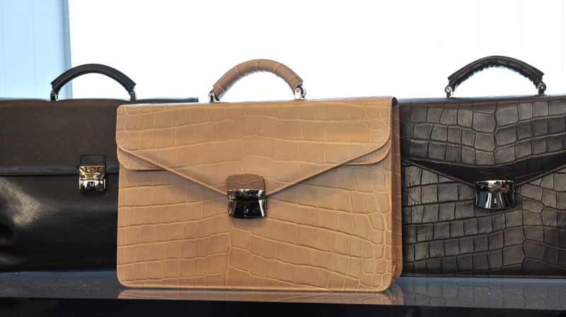 crocodile-briefcases