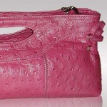 Pink exotic leather bags