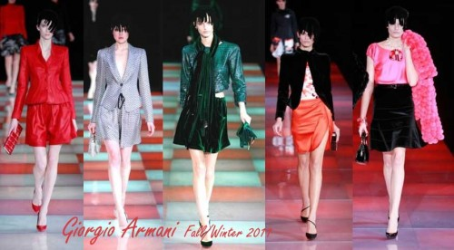 Giorgio Armani Fall/Winter 2010, Milan Fashion week