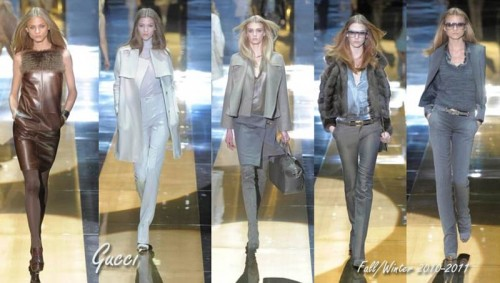 Gucci Fall/Winter 2010-2011, Milan Fashion week