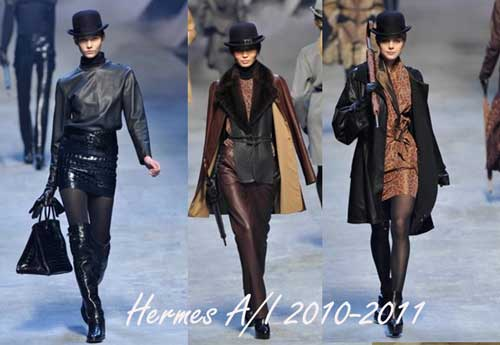 Hermes, Paris fashion week 2010