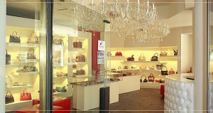 Boutique of handbags