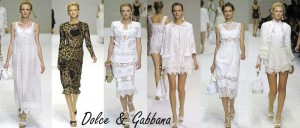 "Dolce & Gabbana, MIlan Fashion Week, Spring Summer ""011"