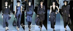 Giorgio Armani, Milan fashion Week, Spring Summer, 2011