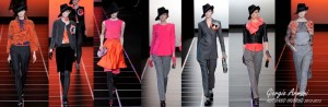 Giorgio Armani, Milan fashion week fall-winter 2012-2013