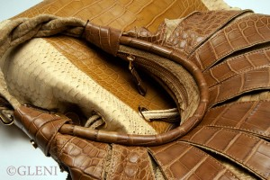 Alligator and python - mixed leathers