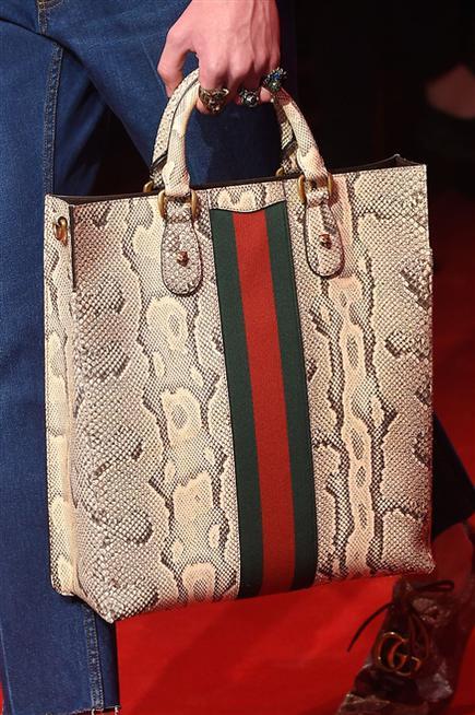 Gucci python bag