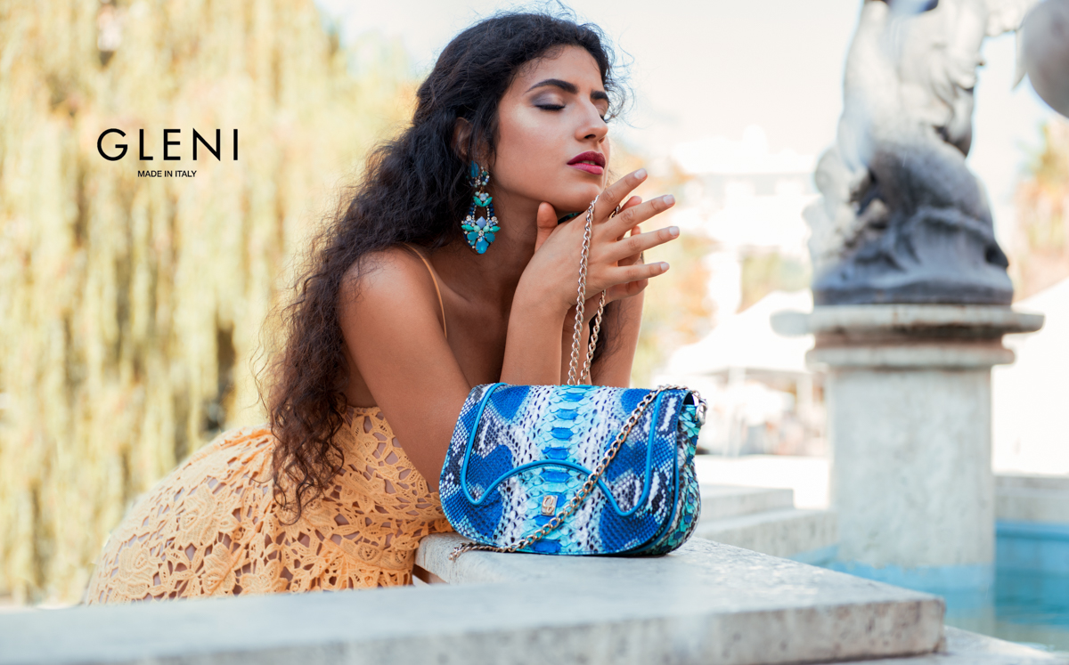 about luxury handbags, fashion trends, exotic leather and Italian style