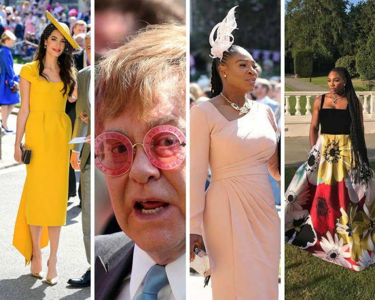 Celebrities choose made in Italy always! Even for a royal wedding