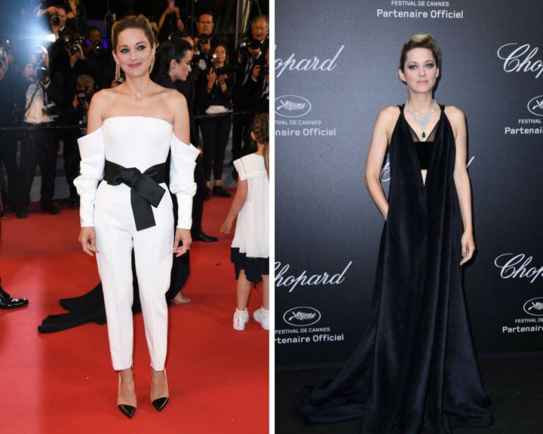 Marion Cotillard at Festival de Cannes wears Italian designers