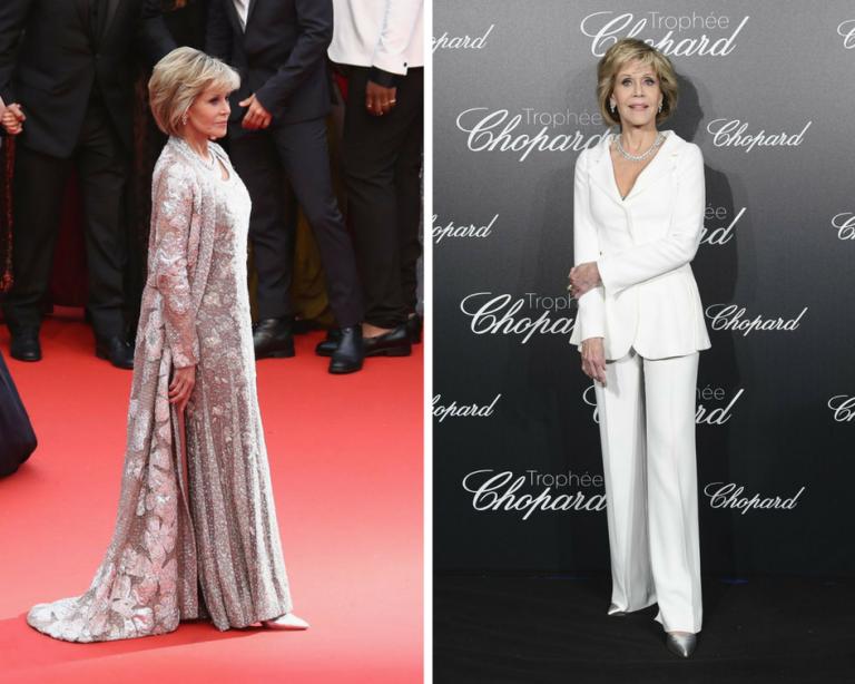 Jane Fonda at Festival de Cannes 2018