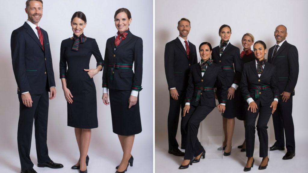 Alberta Ferretti created new Alitalia Uniform during Milan Fashion Week