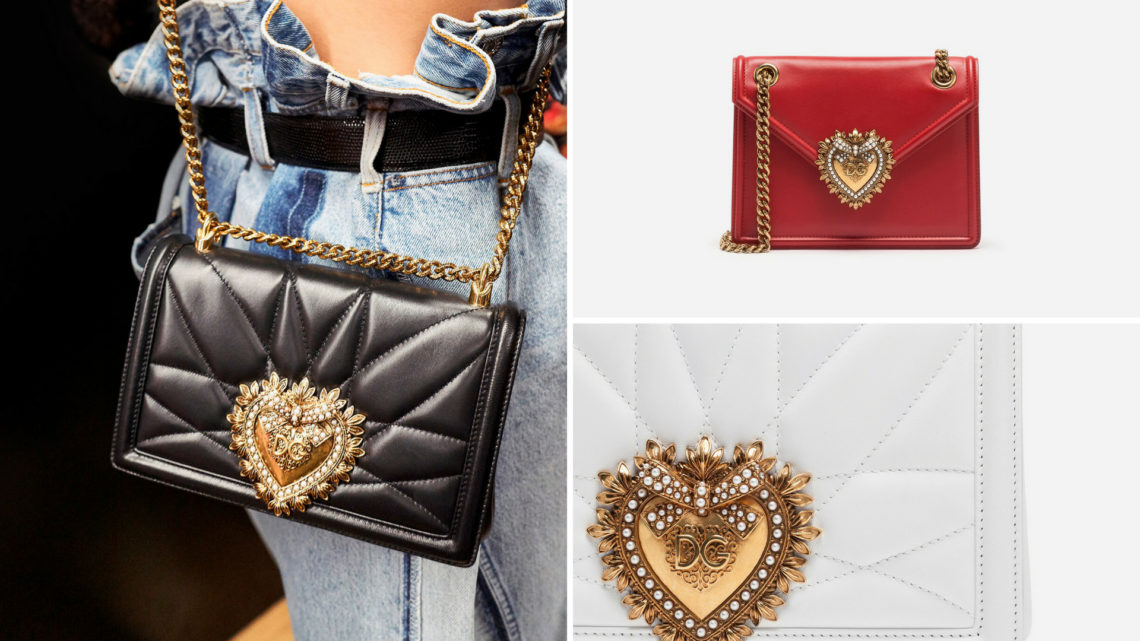 "Dolce & Gabbana's ""Devotion Bag"": a celebration of love"
