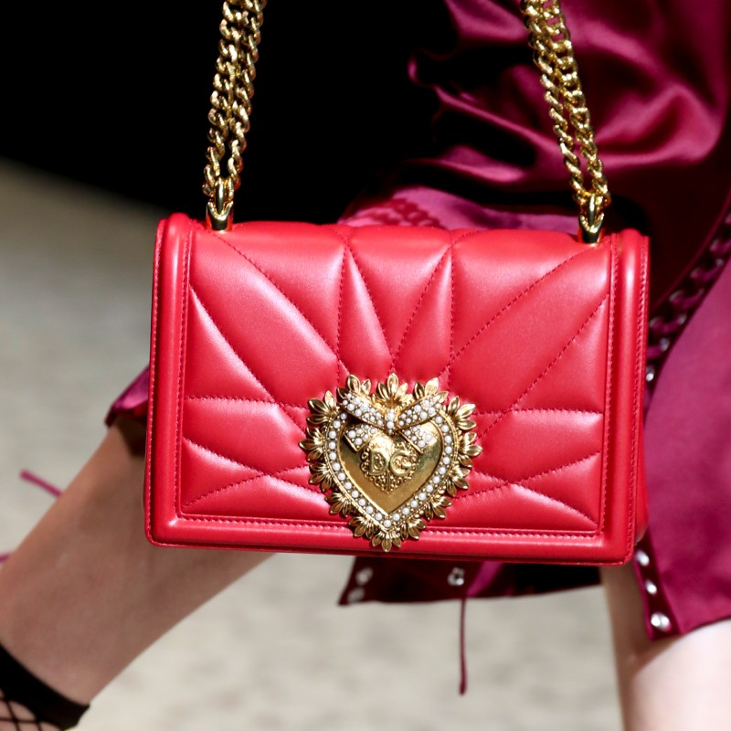 Devotion bag in red