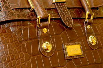Crocodile handbags
