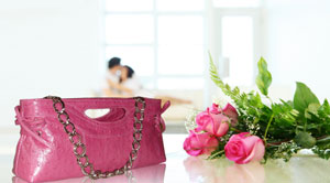 Exotic leather purse - perfect gift for Valentine's Day