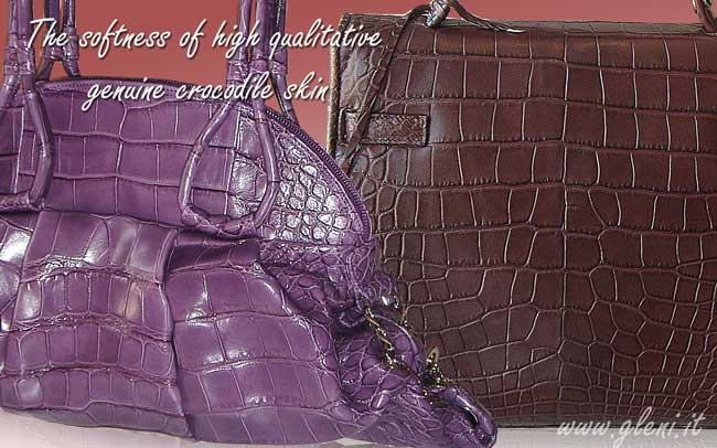 Differnce from alligator, crocodile and caiman leather